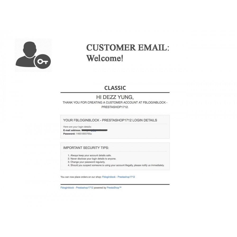 bundle - Boutons Login & Connect - Blog PRO, Social Connexions, Product Avis - 5