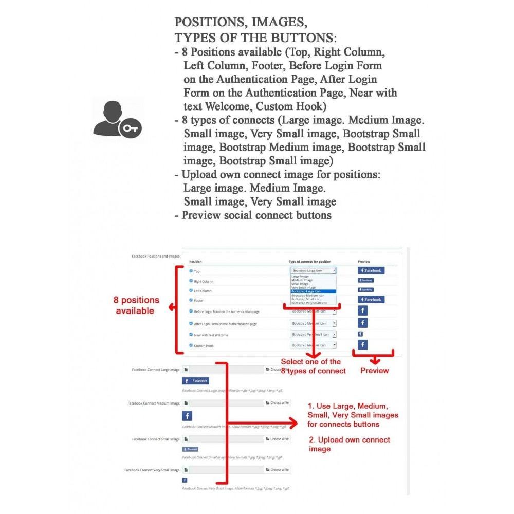 bundle - Boutons Login & Connect - Blog PRO, Social Connexions, Product Avis - 14