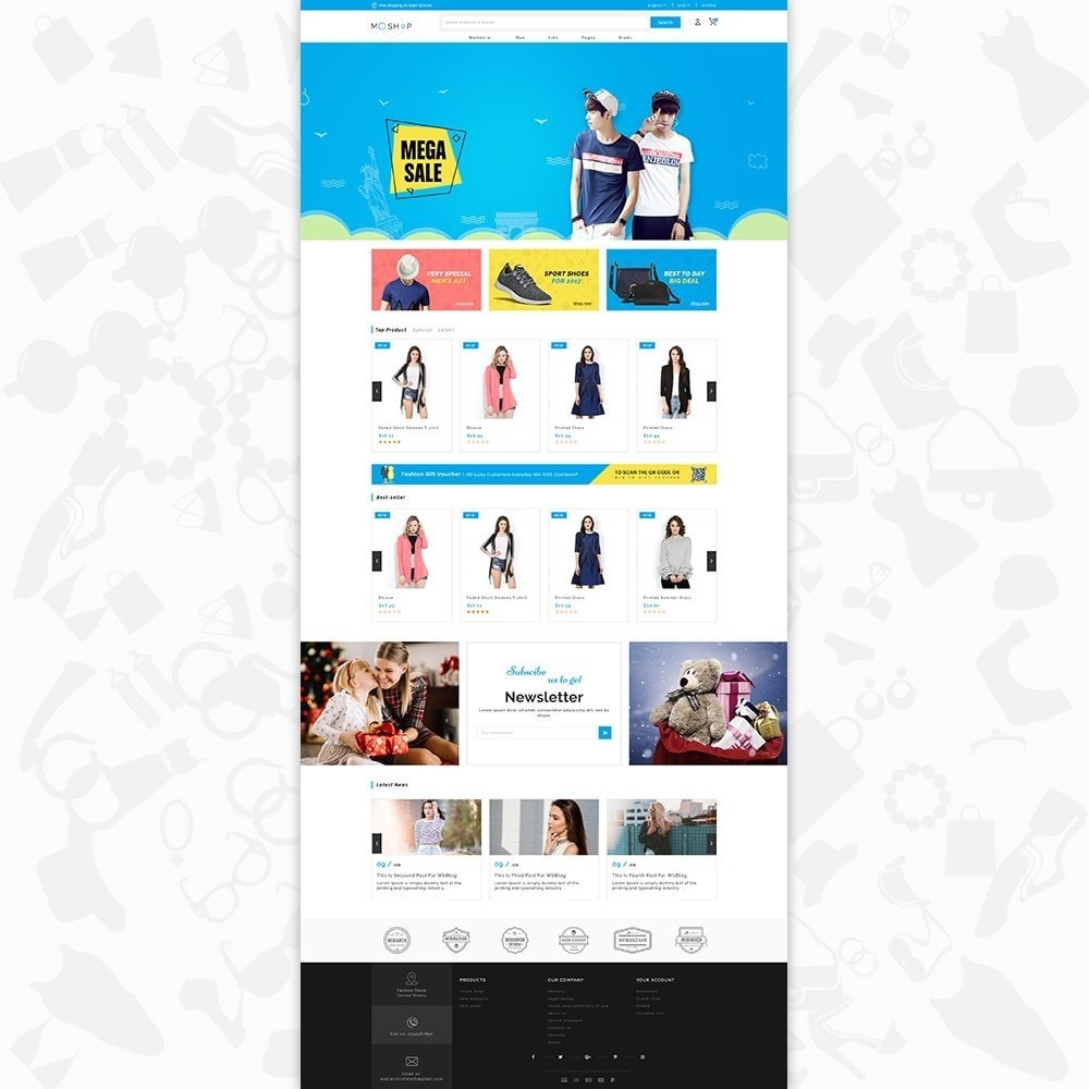 theme - Moda & Calzature - MOShop -  The Fashion Store - 2
