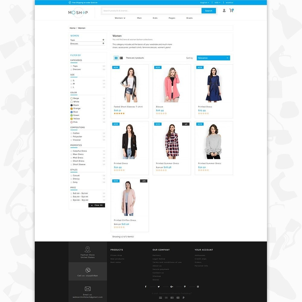 theme - Moda & Calzature - MOShop -  The Fashion Store - 3