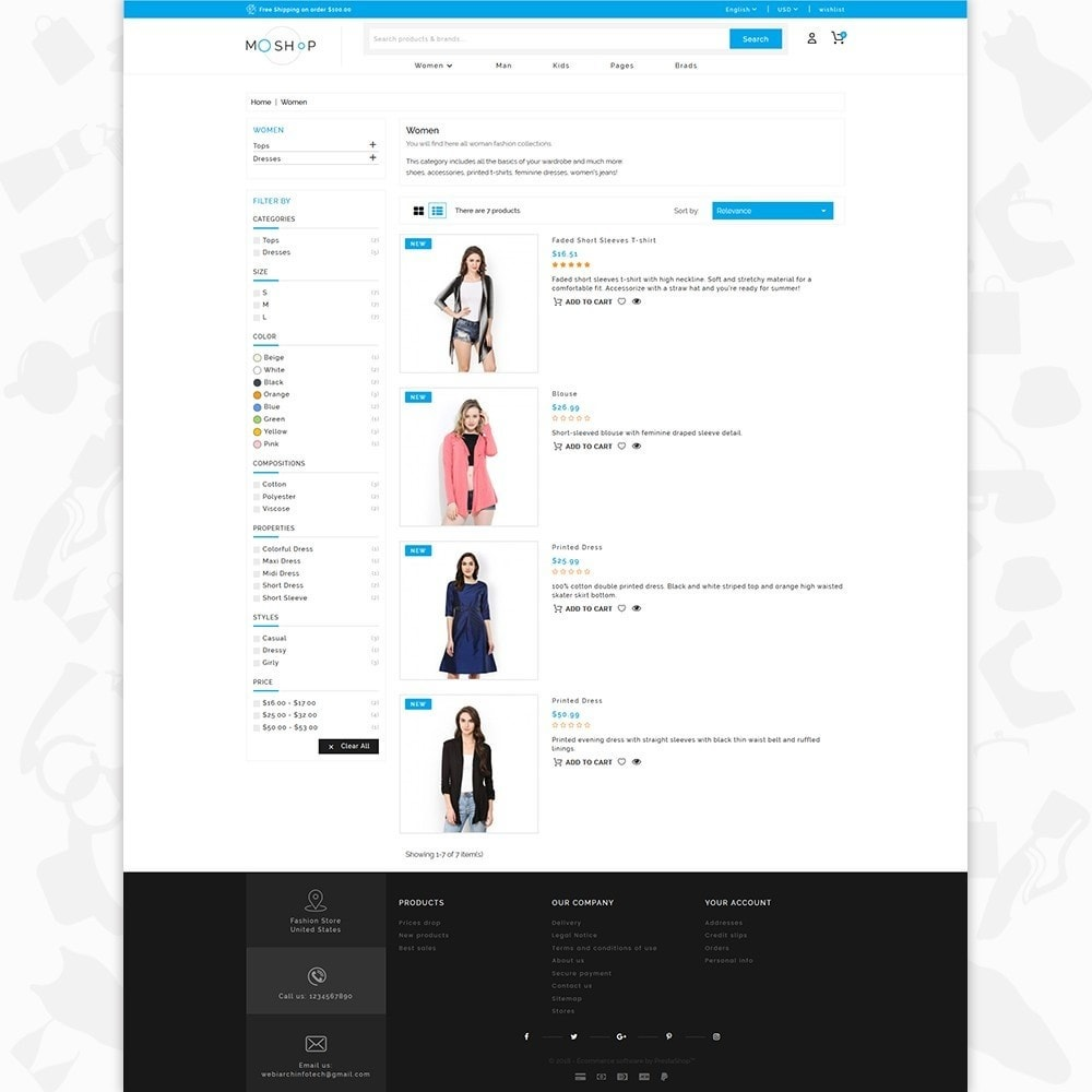 theme - Moda & Calzature - MOShop -  The Fashion Store - 4