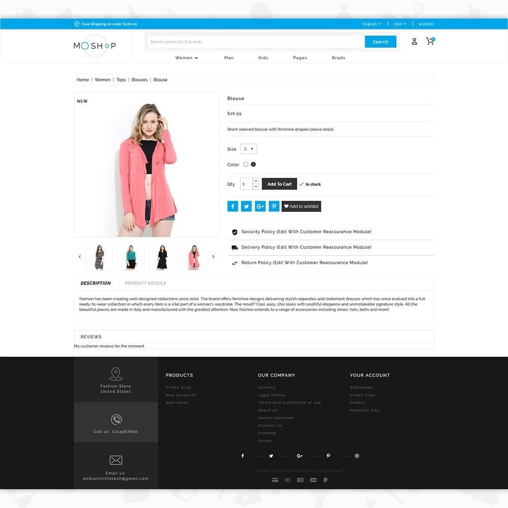 theme - Moda & Calzature - MOShop -  The Fashion Store - 5