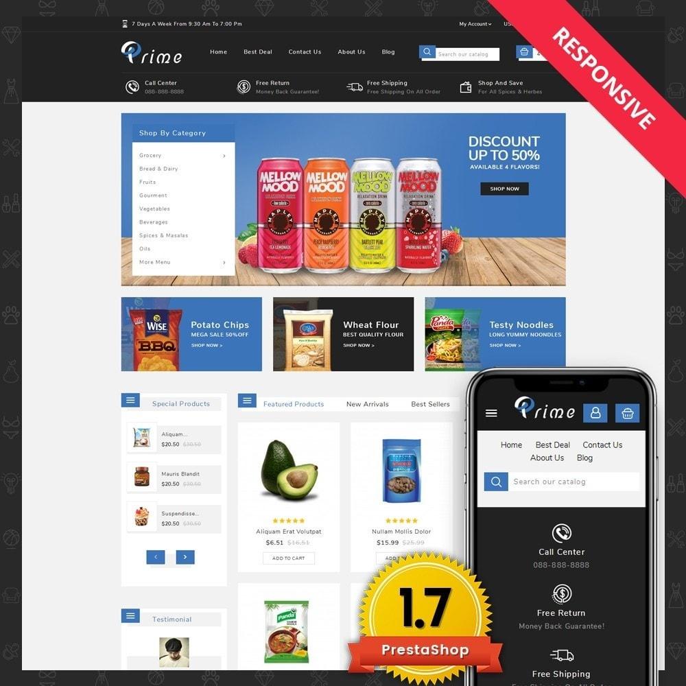 theme - Żywność & Restauracje - Prime Grocery Store - 1