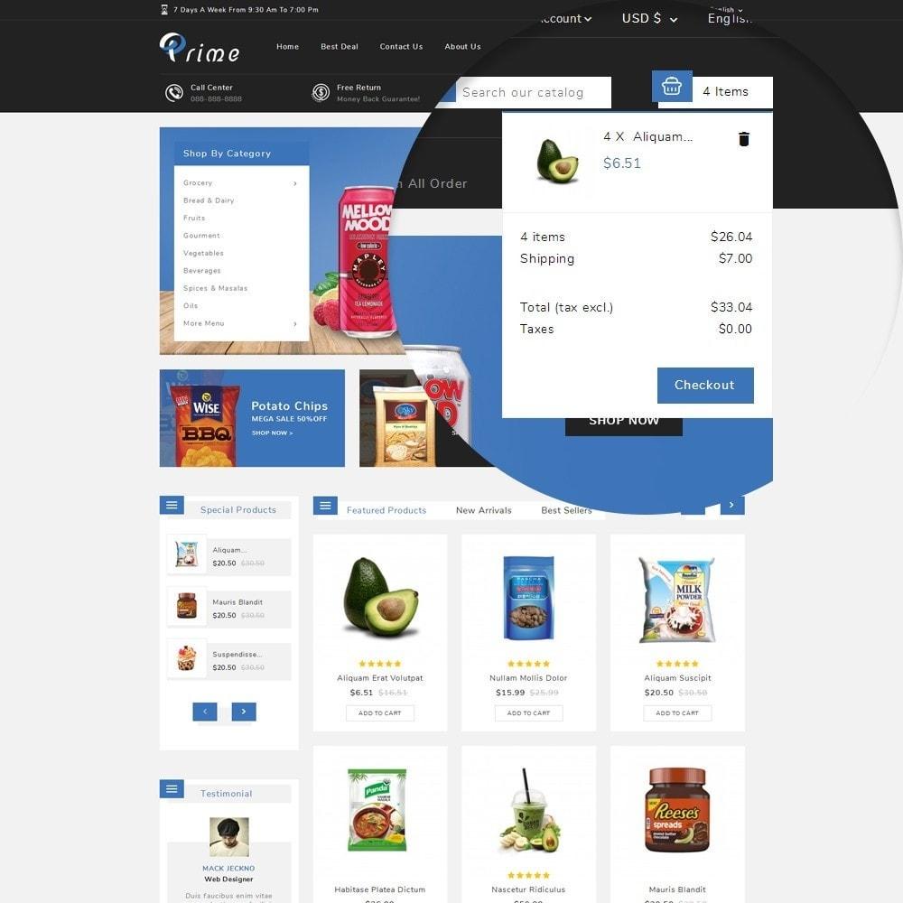 theme - Żywność & Restauracje - Prime Grocery Store - 8