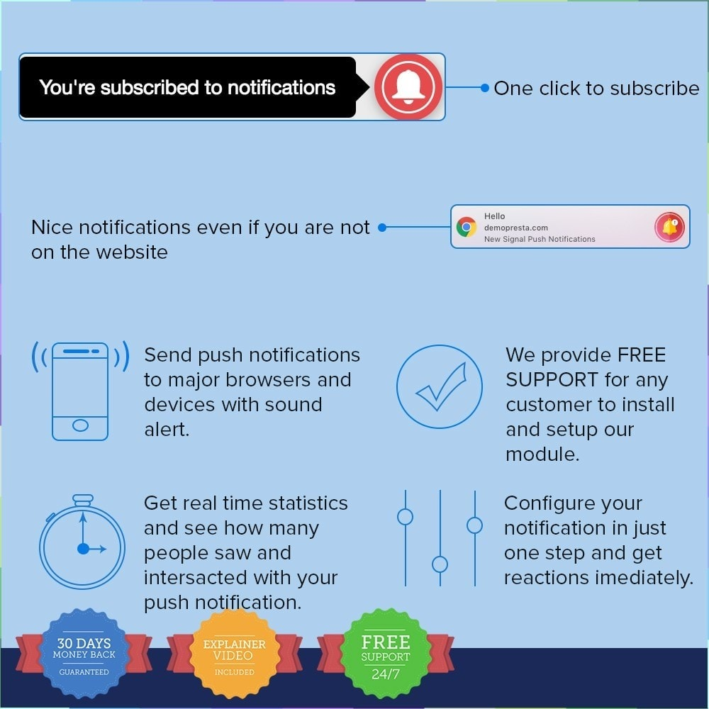 module - Emails & Notificaties - One Signal Push Notifications - 2