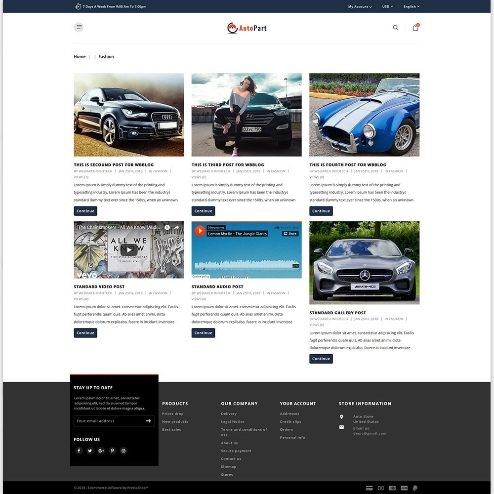 theme - Auto & Moto - Auto Store - 6
