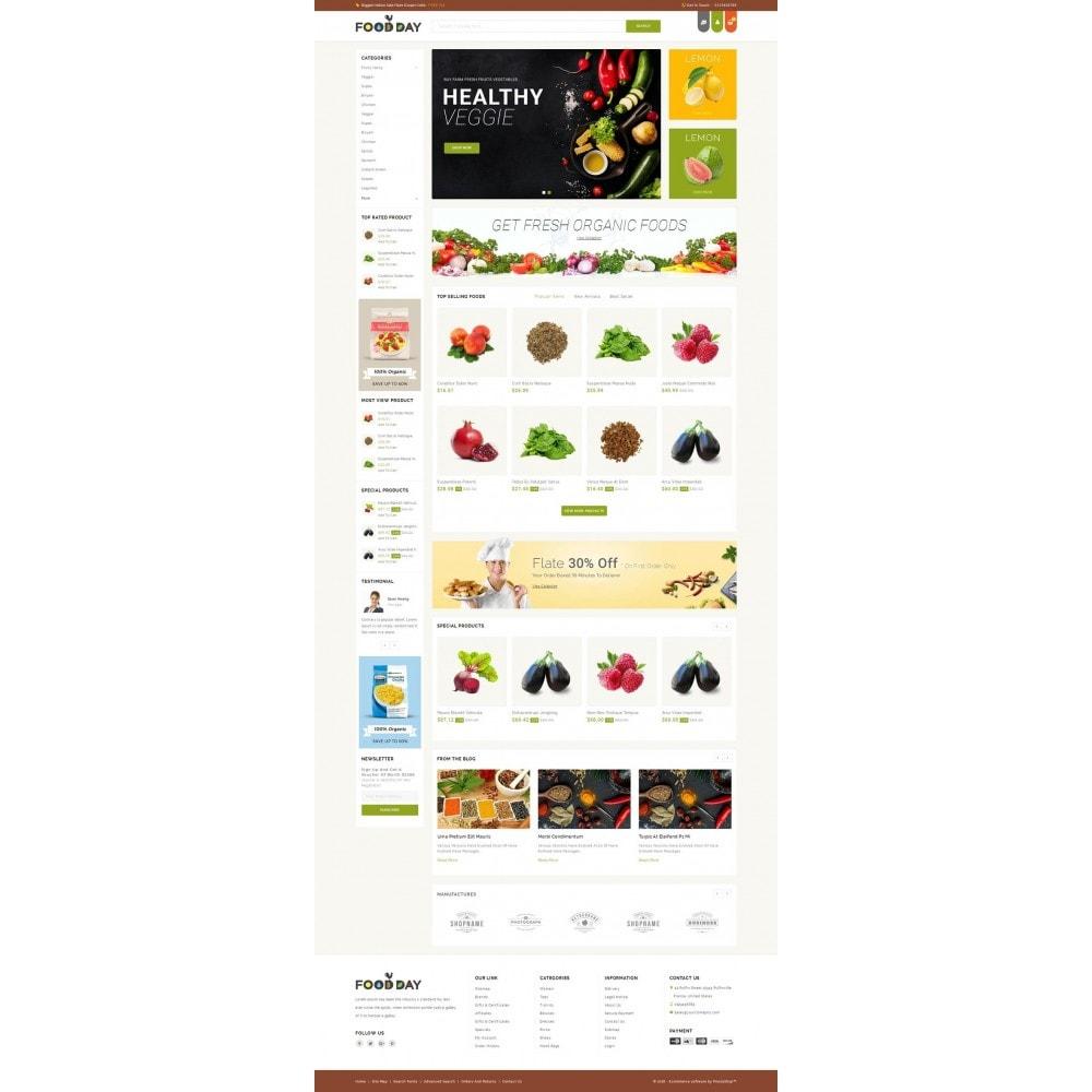 theme - Food & Restaurant - FoodDay - Food & Restaurant Store - 2