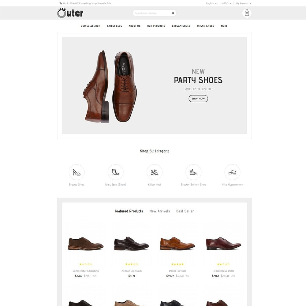 theme - Moda & Calçados - Outer - The Shoe Shop - 2