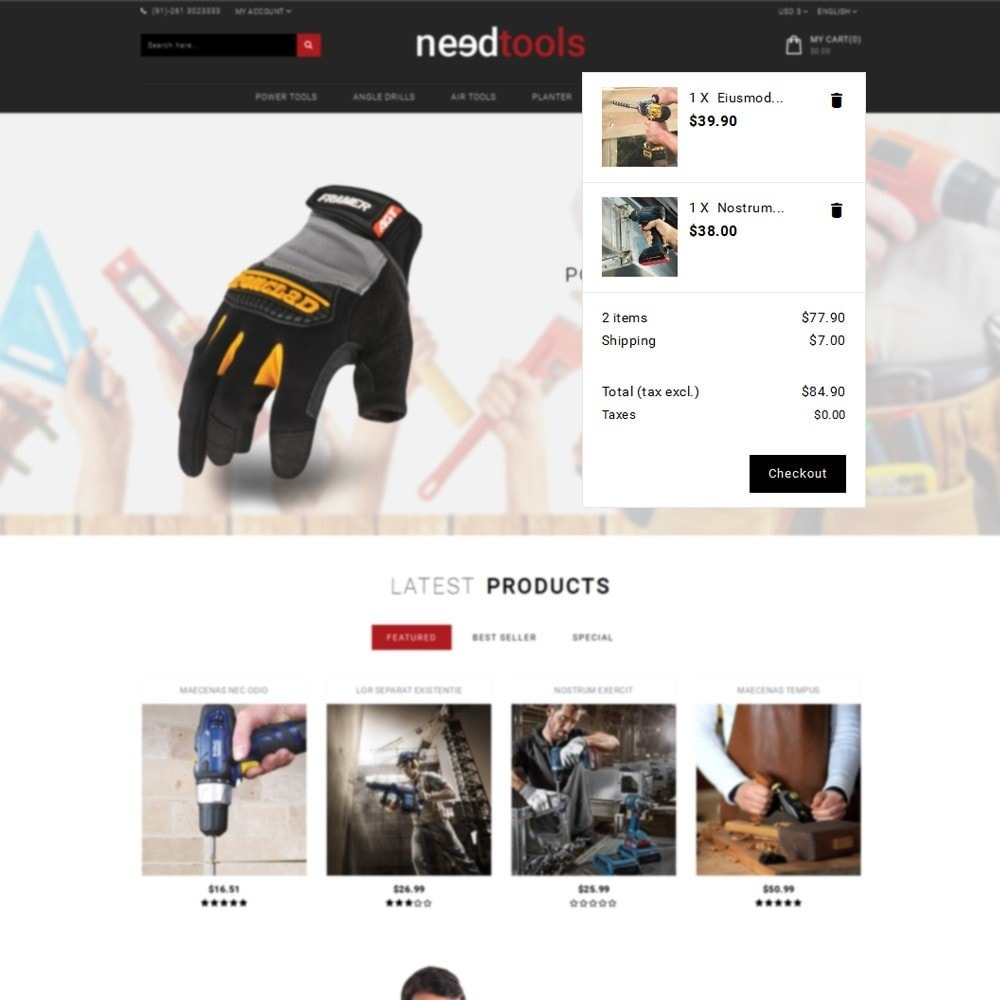 theme - Carros & Motos - NeedTools Store - 8