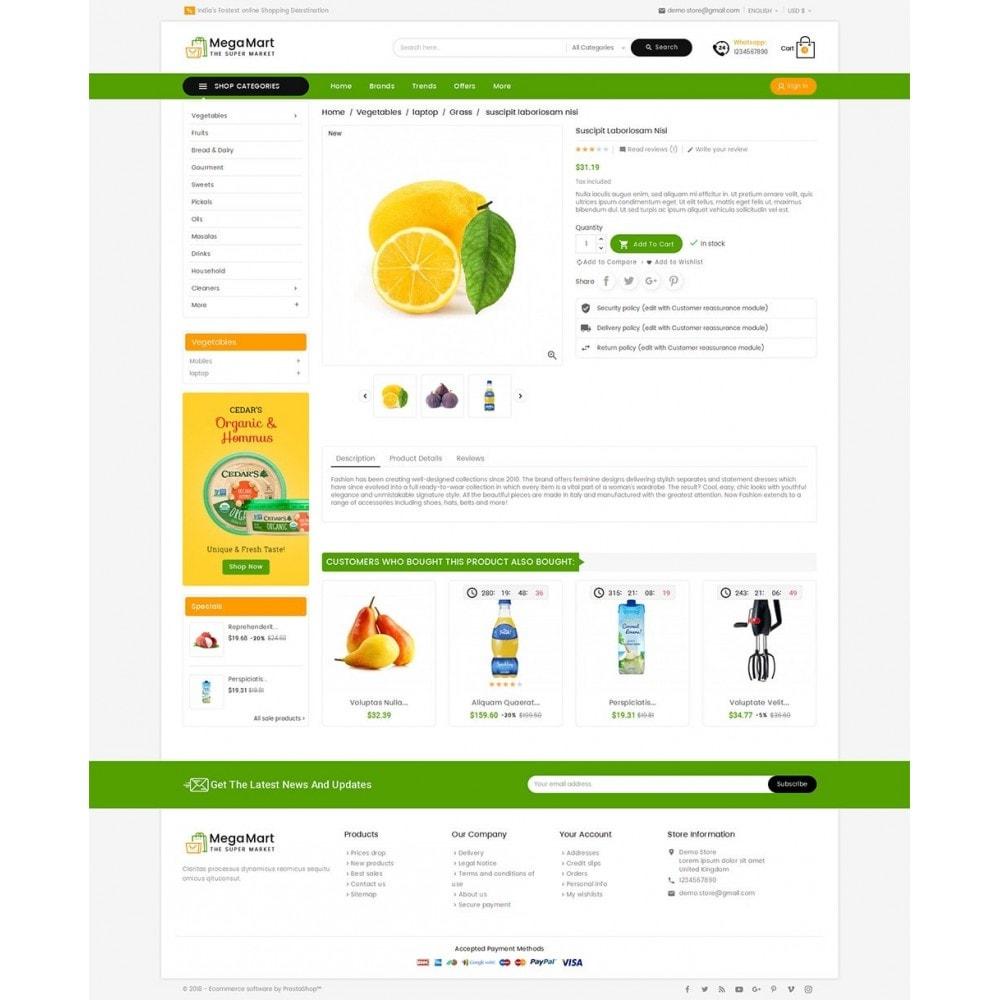 theme - Alimentos & Restaurantes - Mega Mart Grocery - 5