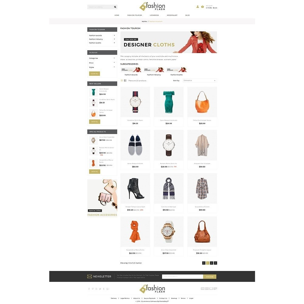 theme - Mode & Schuhe - Fashionflash Demo Store - 3