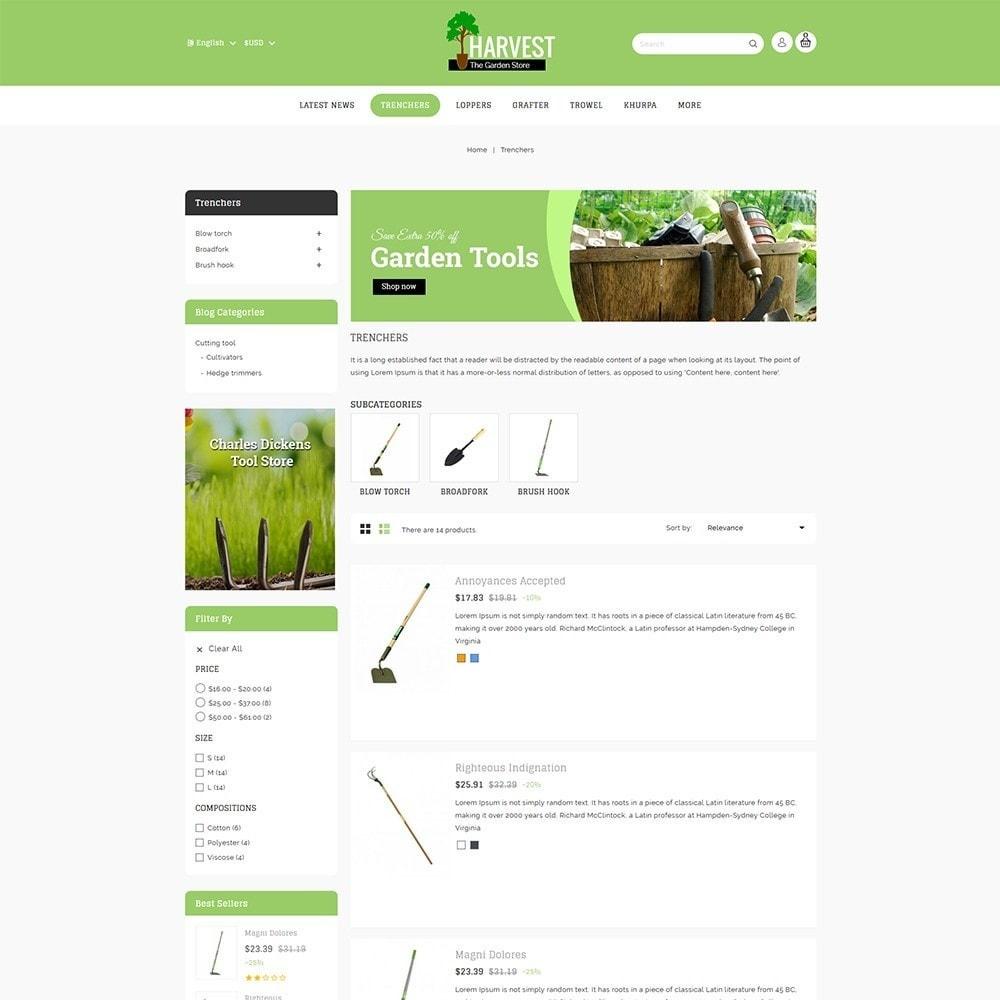 theme - Home & Garden - Harvest Gardening Store - 5