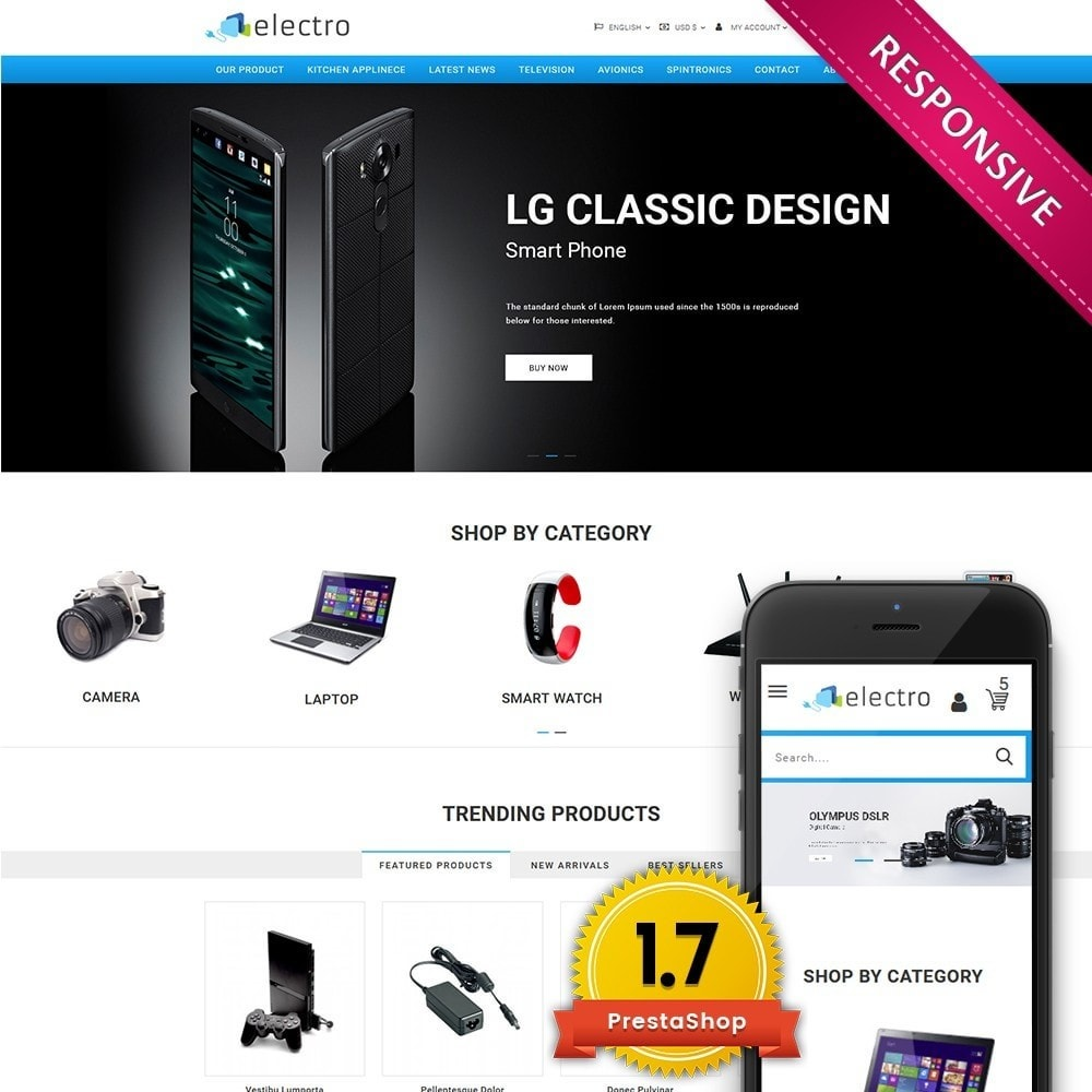theme - Elektronika & High Tech - Electro - Electronics Store - 1