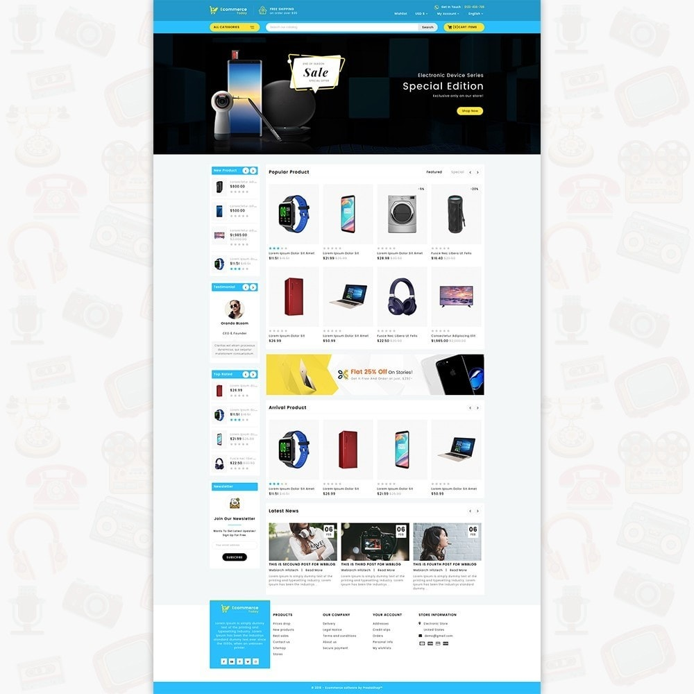 theme - Elektronika & High Tech - Ecommerce-Today- Electronics Store - 2