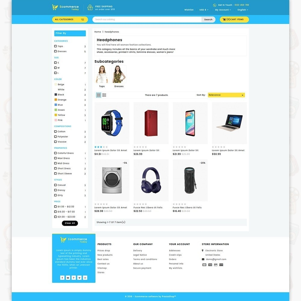 theme - Elektronika & High Tech - Ecommerce-Today- Electronics Store - 3