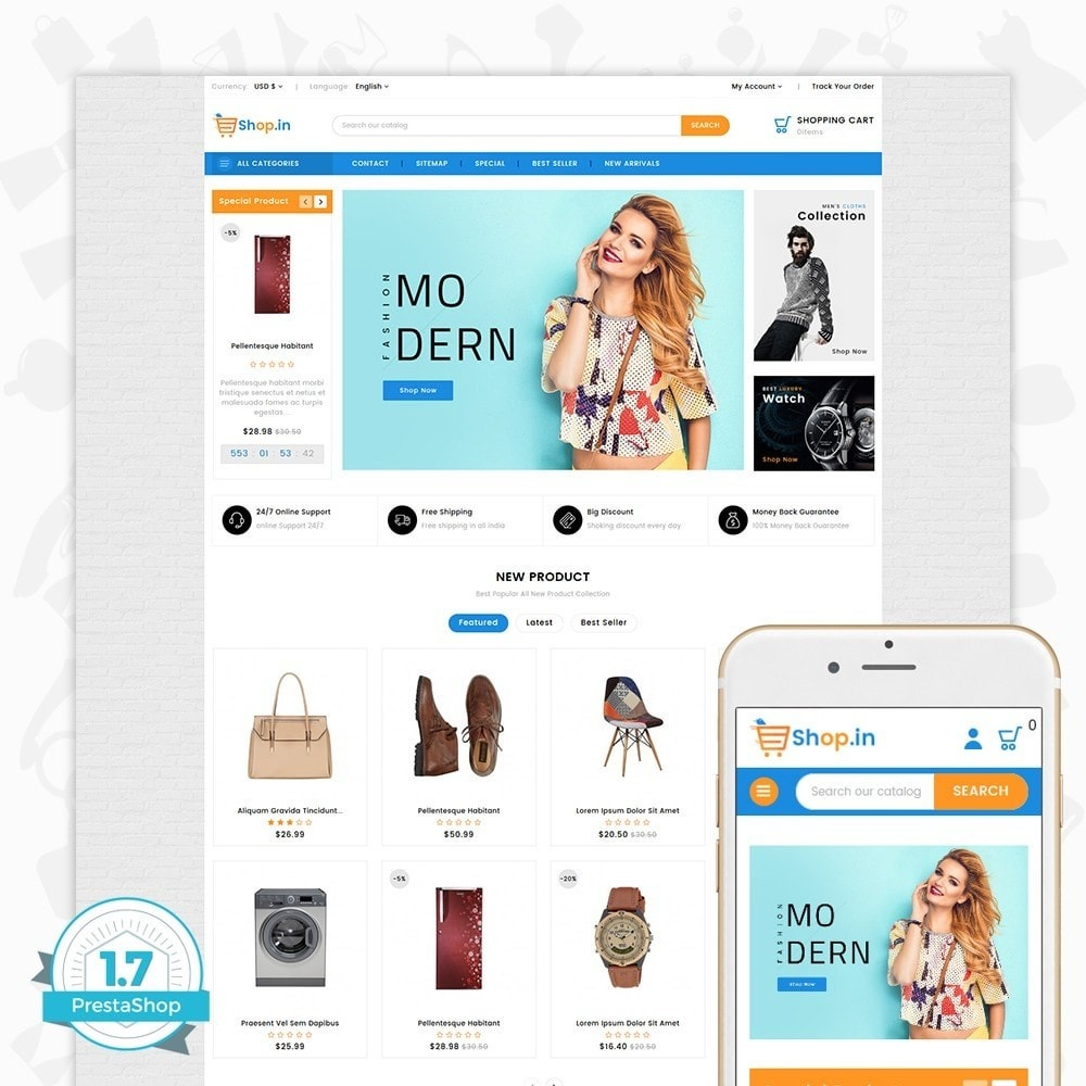theme - Moda y Calzado - Shop in -The Fashion Store - 1