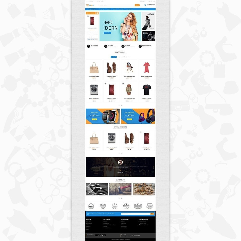 theme - Moda & Calzature - Shop in -The Fashion Store - 2