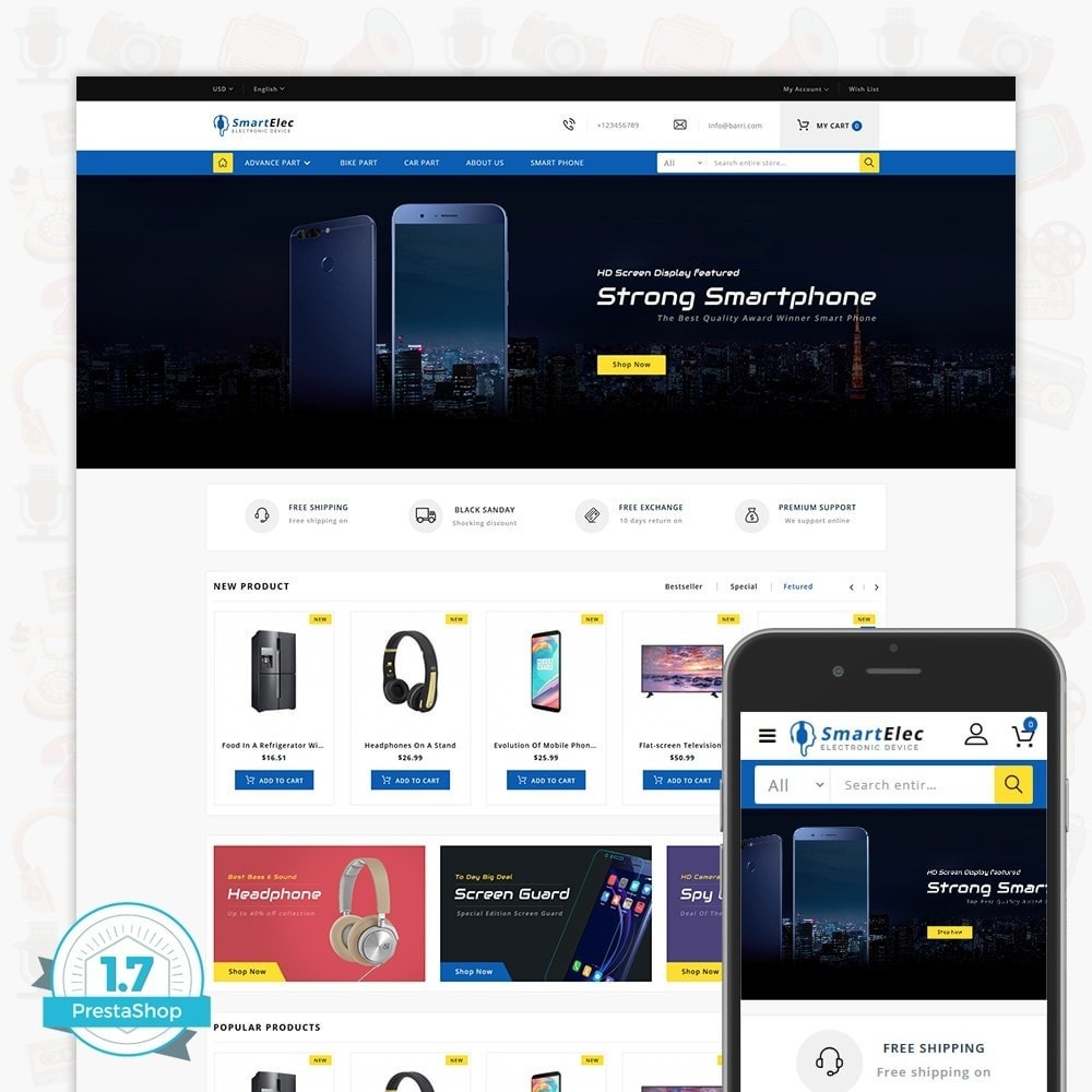 theme - Elettronica & High Tech - SmartElec - Electronic Device - 1