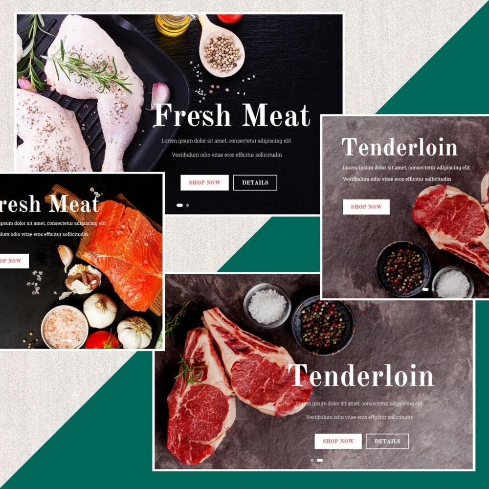 theme - Alimentation & Restauration - Fresh Store II - 3
