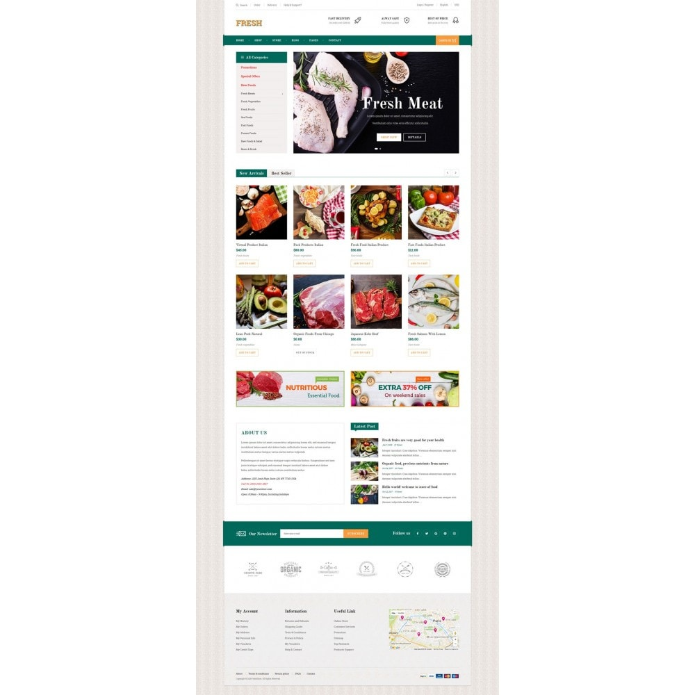 theme - Lebensmittel & Restaurants - Fresh Store II - 6
