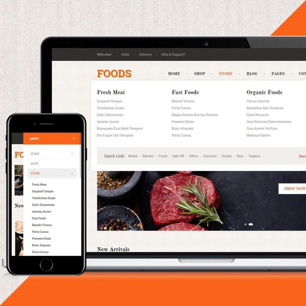theme - Żywność & Restauracje - Food Shop II - 4