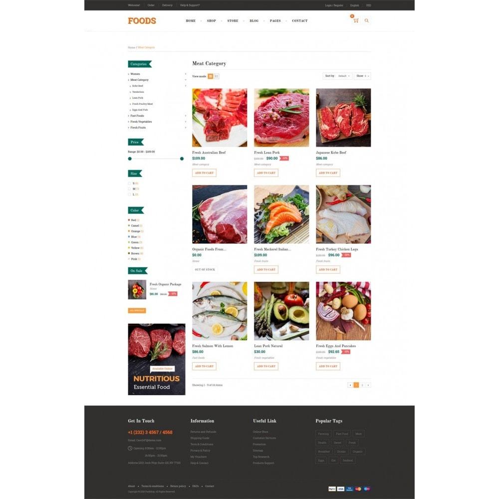 theme - Alimentation & Restauration - Food Shop II - 8