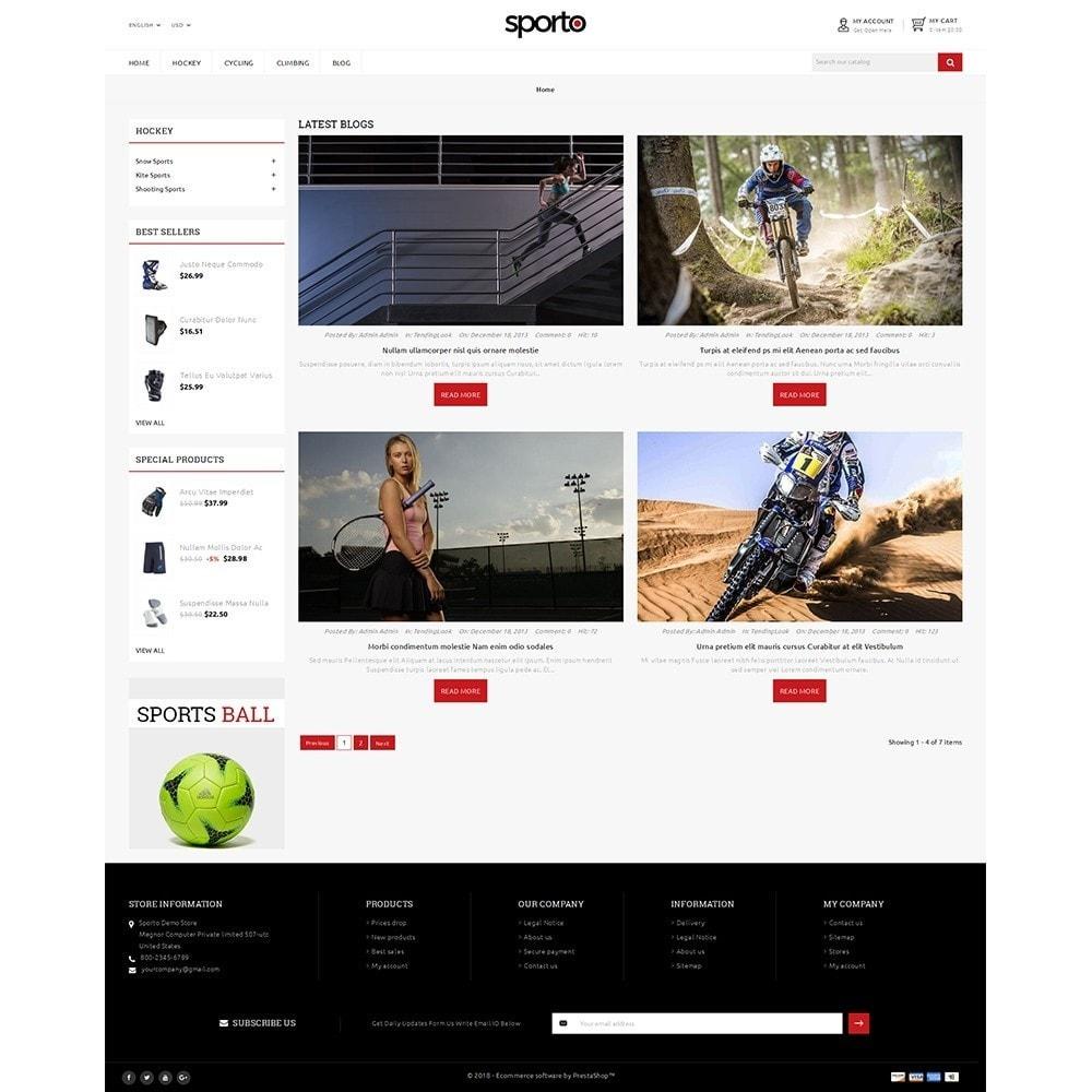 theme - Sport, Attività & Viaggi - Sporto Demo Store - 8