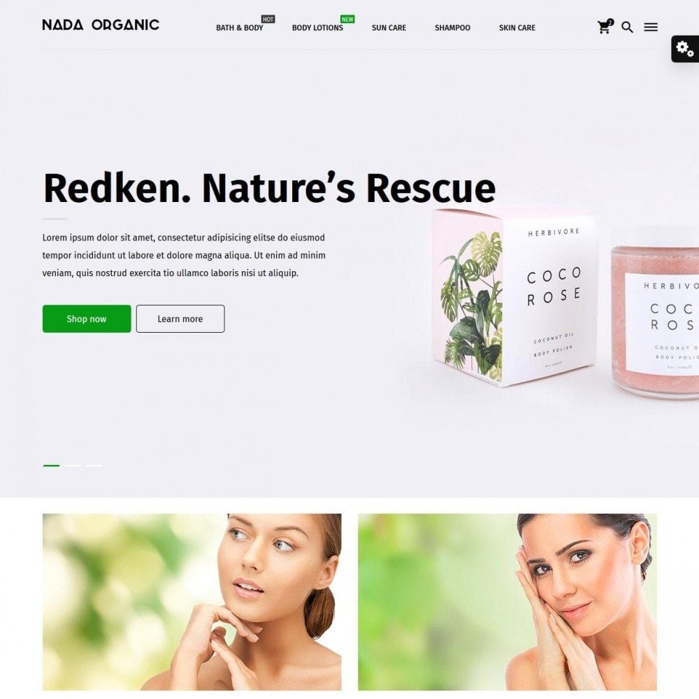 theme - Zdrowie & Uroda - Nada Organic - 2
