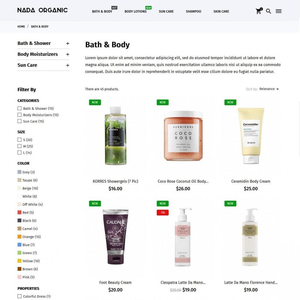theme - Zdrowie & Uroda - Nada Organic - 5