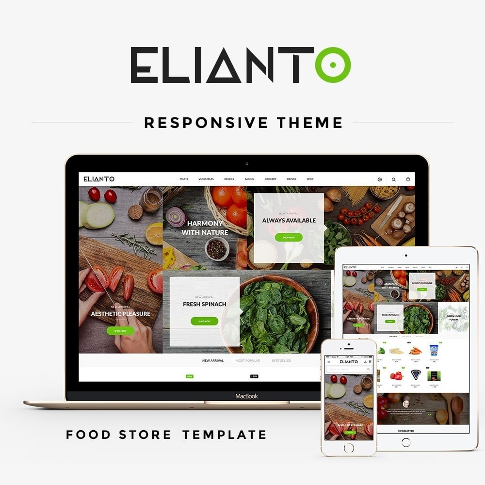theme - Food & Restaurant - Elianto - 1