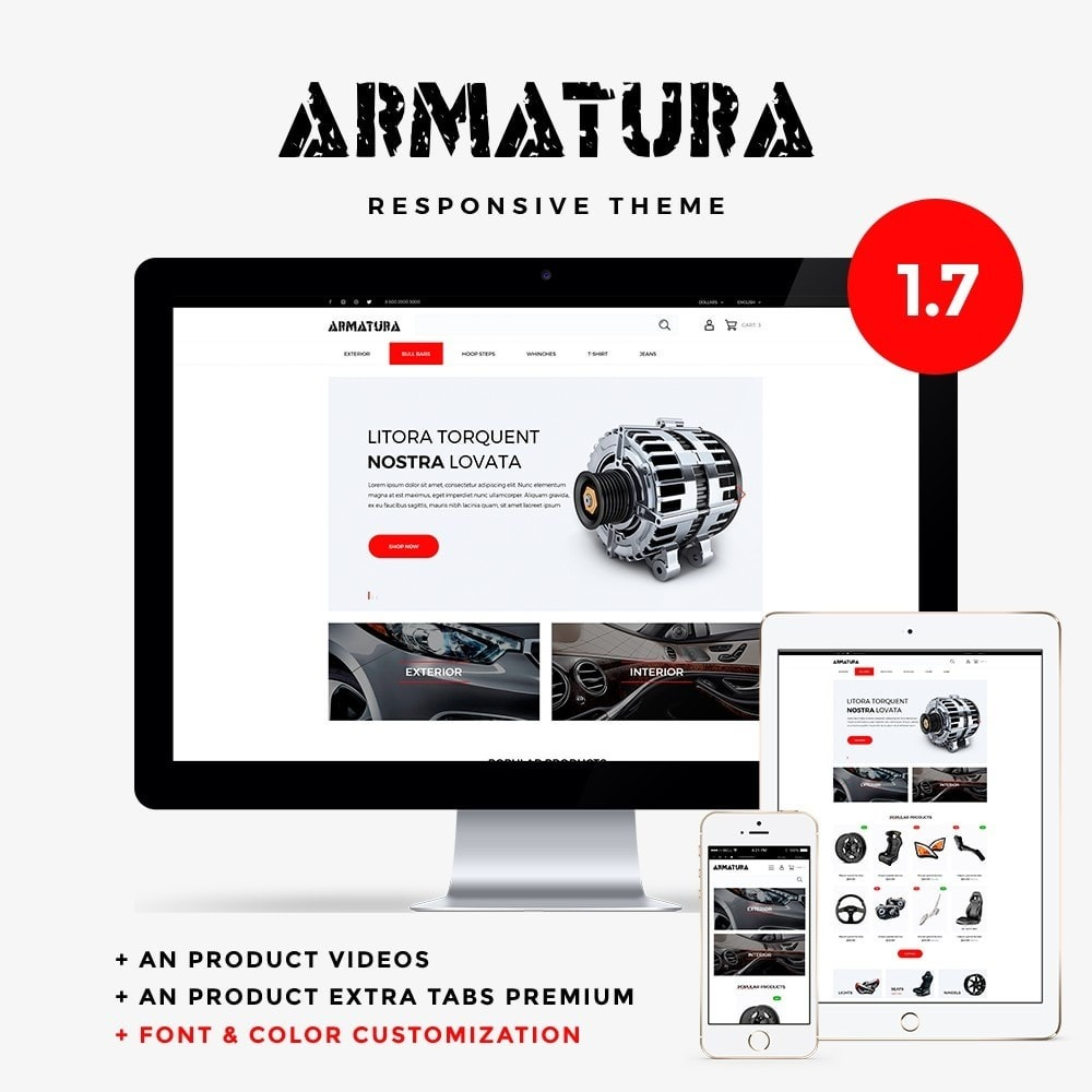 theme - Automotive & Cars - Armatura - 1