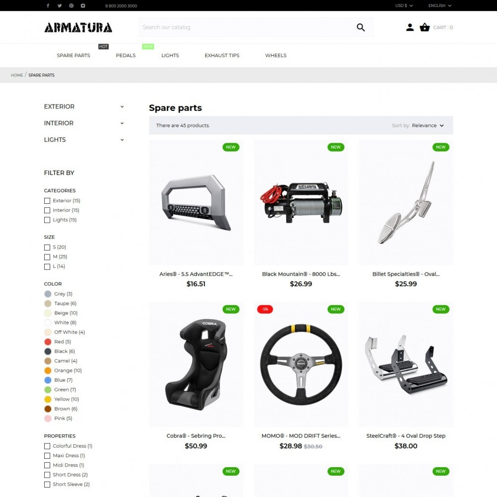 theme - Automotive & Cars - Armatura - 5