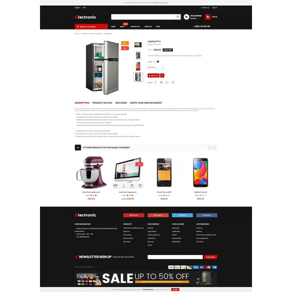 theme - Electronics & Computers - Electronic Online Store - 4