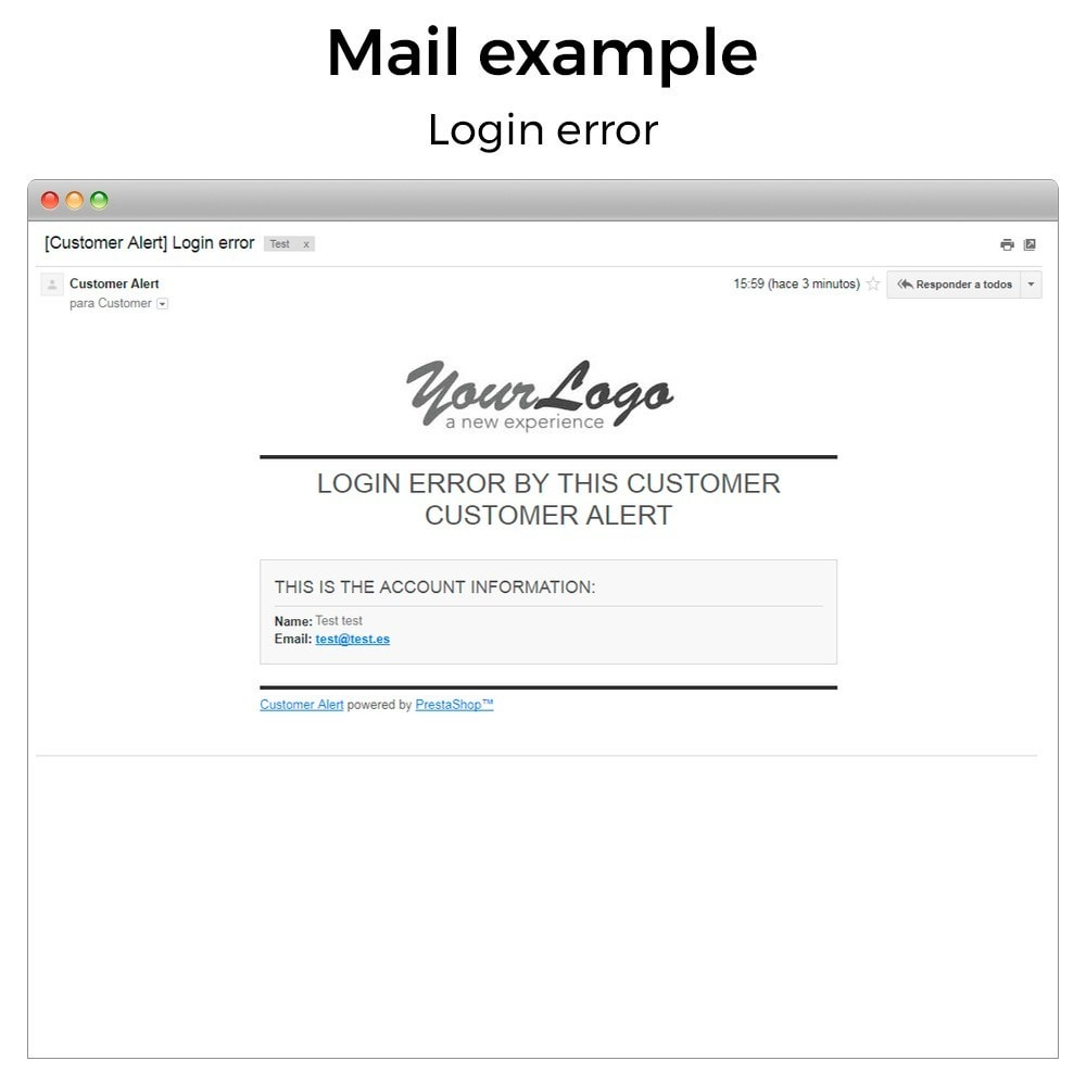 module - Emails & Notificaties - Get email when customer register or login - 10