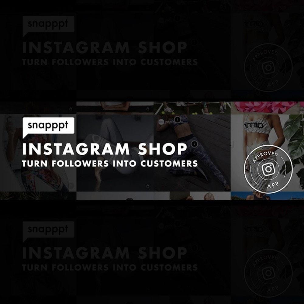 module - Produkte in Facebook & sozialen Netzwerken - Snapppt - 1