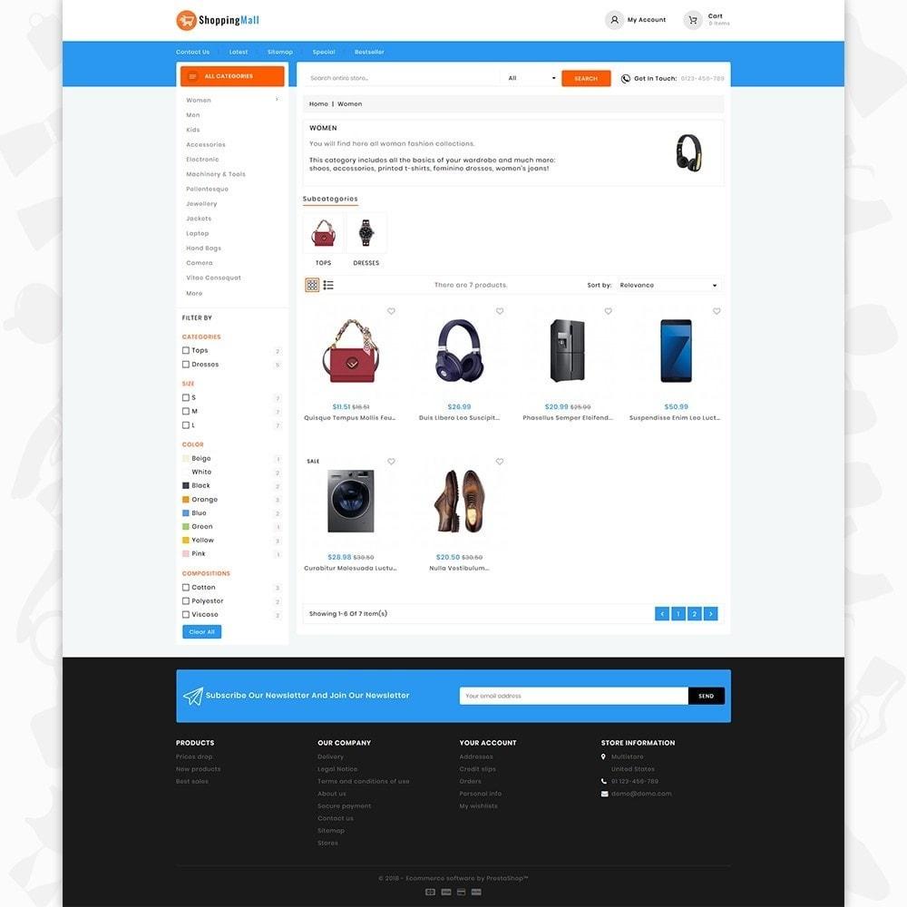 theme - Elektronik & High Tech - Shoppingmall - The Mega Mall - 3