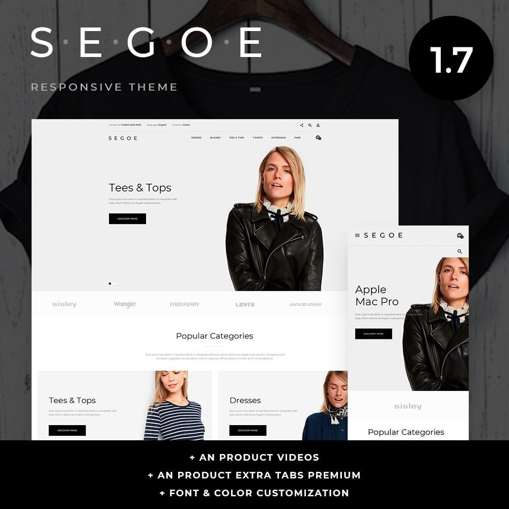 theme - Mode & Chaussures - Segoe Fashion Store - 1