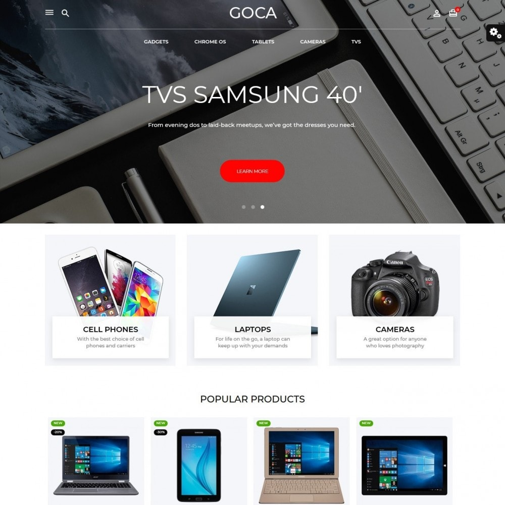 theme - Elettronica & High Tech - Goca - High-tech Shop - 2