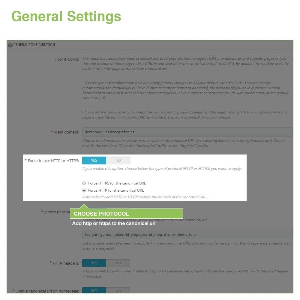 module - Управления адресами URL и перенаправлением - Canonical SEO URLs to Avoid Duplicate Content - 3
