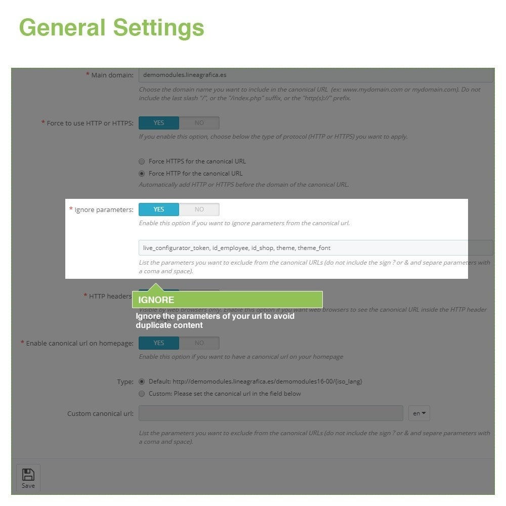 module - Управления адресами URL и перенаправлением - Canonical SEO URLs to Avoid Duplicate Content - 4