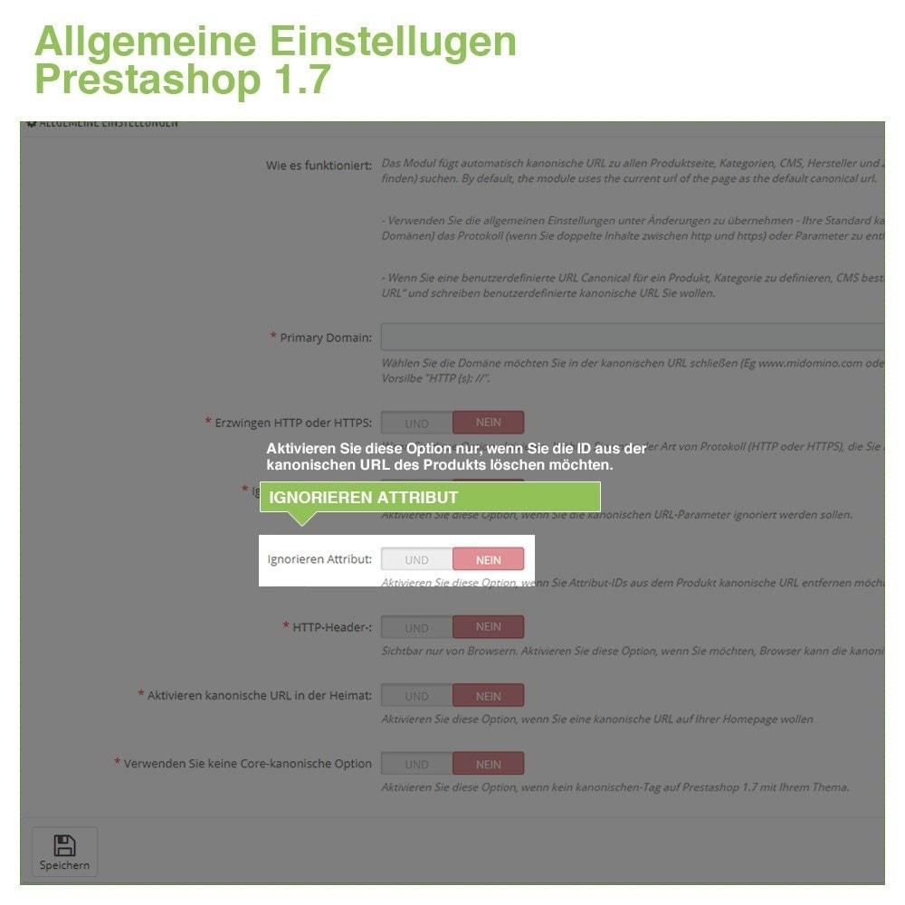 module - URL & Redirects - Kanonische URLs, um doppelte Inhalte zu vermeiden - SEO - 8