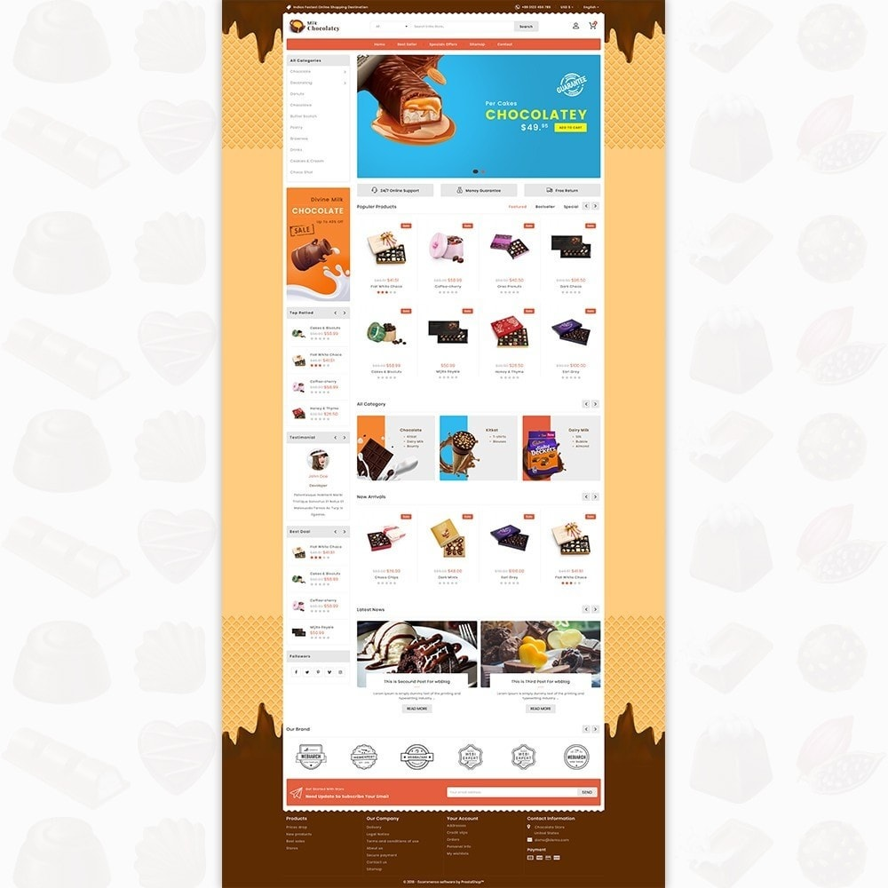 theme - Lebensmittel & Restaurants - Milk Chocolaty - 2