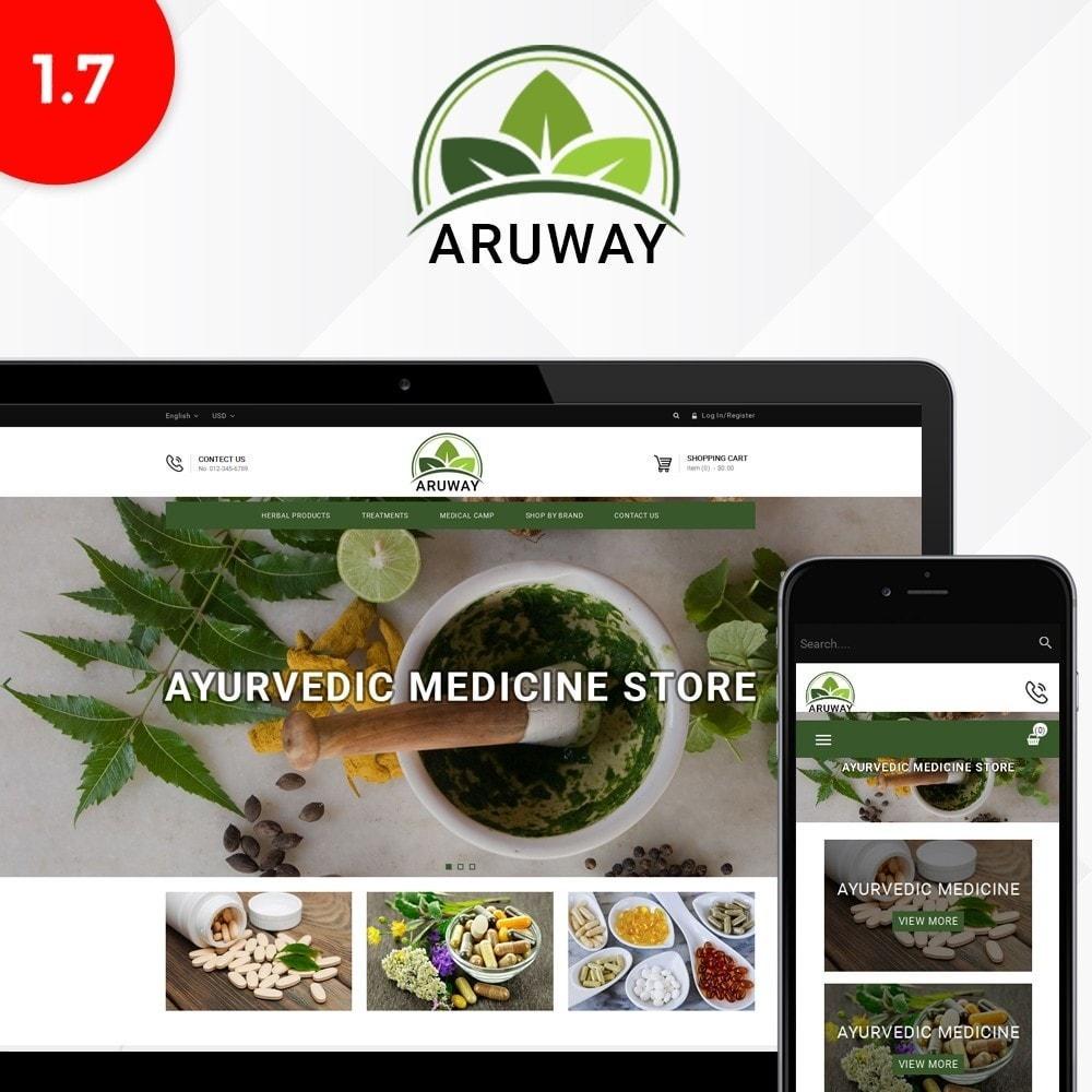 theme - Santé & Beauté - Aruway health store - 1