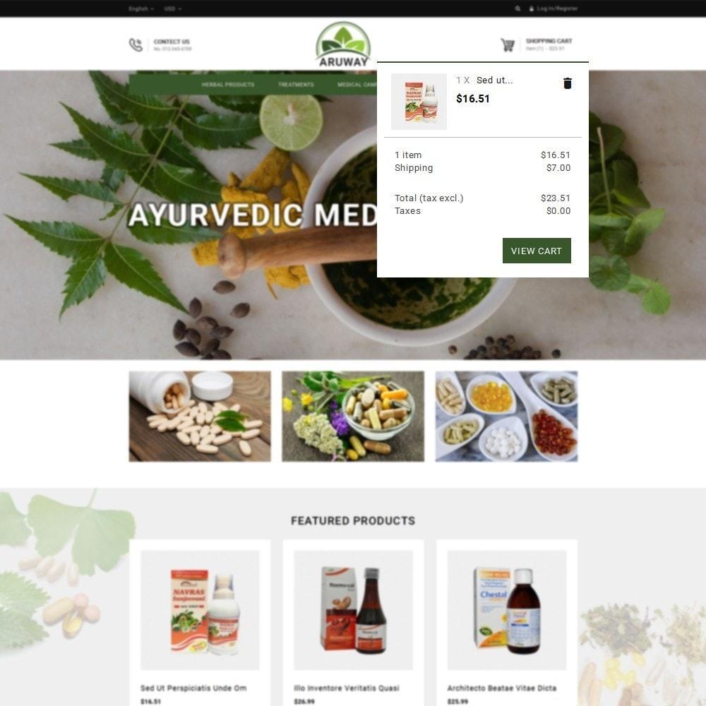 theme - Santé & Beauté - Aruway health store - 8
