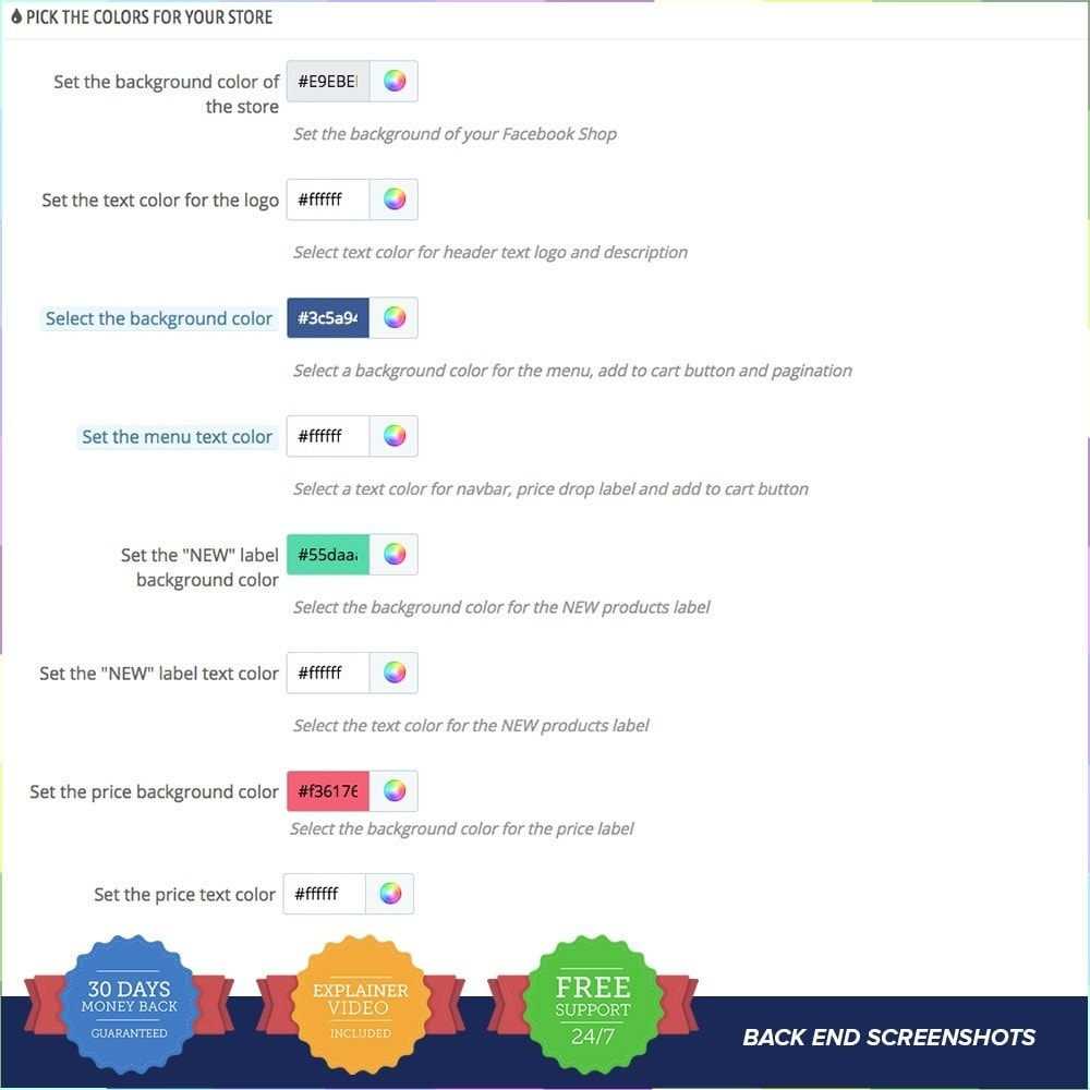 module - Produits sur Facebook & réseaux sociaux - Social Network Shop PRO - 14