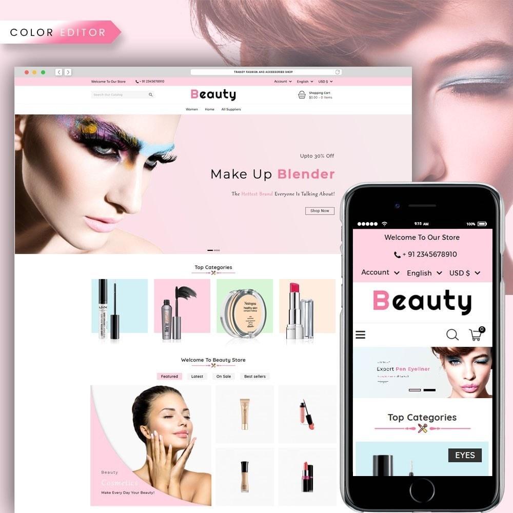 theme - Zdrowie & Uroda - Beauty Cosmetic Shop - 1