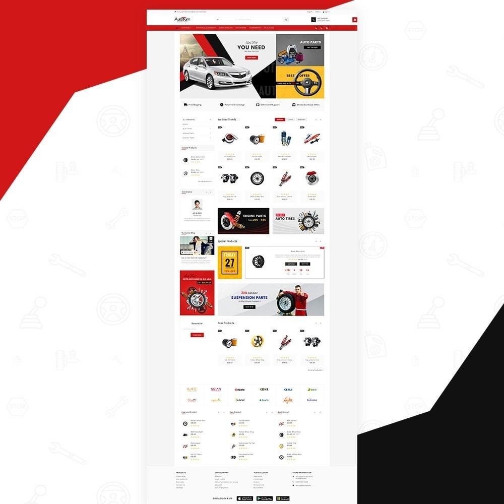 theme - Autos & Motorräder - AutoBurn – AutoPart and Tool Super Store v3 - 2
