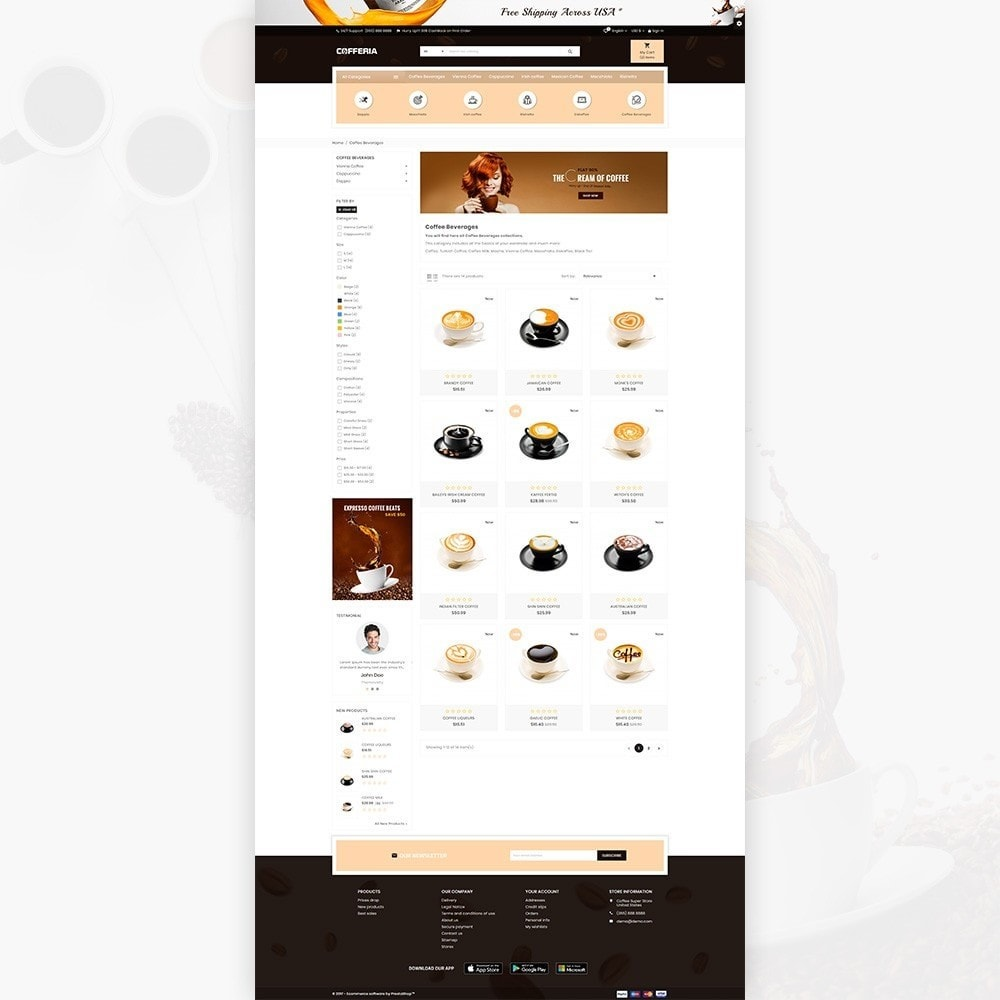 theme - Bebidas & Tabaco - Cofferia – Coffee Super Store - 3