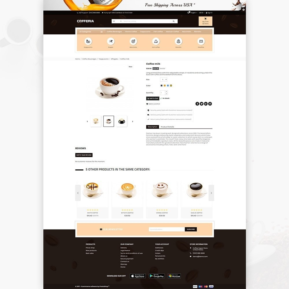 theme - Bebidas & Tabaco - Cofferia – Coffee Super Store - 4