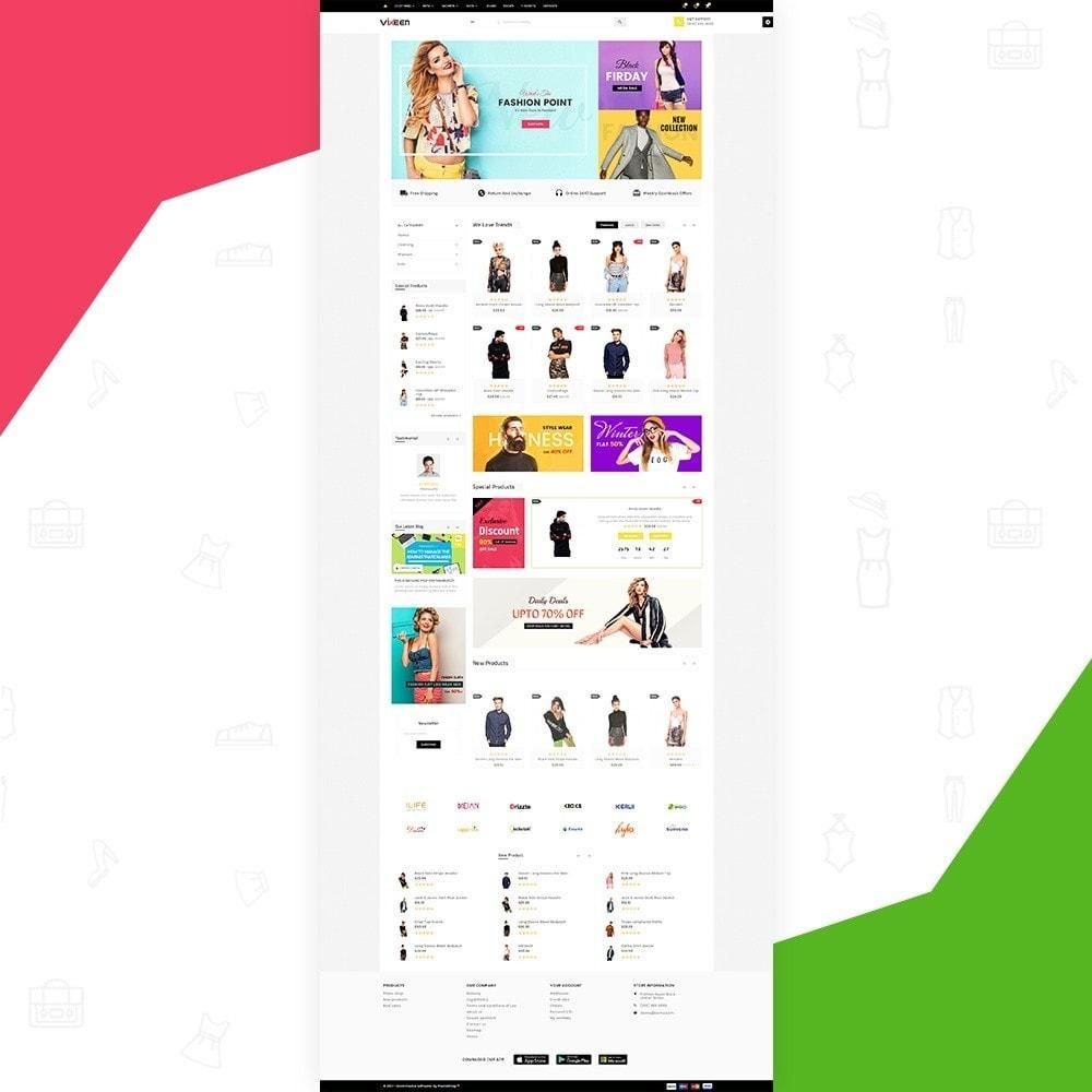 theme - Moda & Calçados - Vixeen Stylo Fashion Super Store v3 - 3